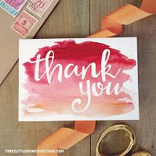 Free Printable Thank You Postcards 13 Free Printable Thank You Cards With Lots Of Style