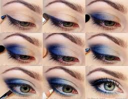 i love blue eye shadow