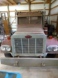 Peterbilt Pickup Truck - Semi Body Mounted On Truck Frame - Used ...