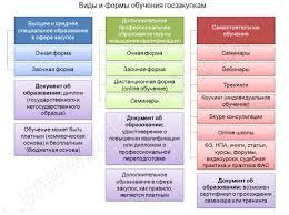 Обучение госзакупкам по ФЗ виды и формы обучения госзакупкам  2 Виды и формы обучения госзакупкам
