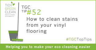 how to clean stains from your vinyl flooring