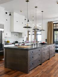unique island lighting. this kitchen is really interestingfrom the unique island to pendants lighting a