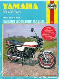 yamaha rd400 1975 1979 work manual