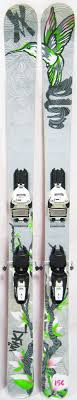 2012 Volkl Aura Womens Skis With Marker Squire Bindings Used Demo Skis 156cm