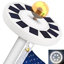 Super Bright Flagpole Light 5 Best Solar Flagpole Light Reviews Residential