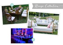 Rustic Party Rental Options & Chic New Seats from Event Rentals