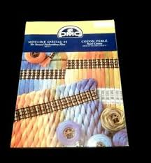 Dmc Floss Chart Details About Dmc Mouline Special 25 Cotton Perle Embroidery Floss Chart Book With Floss