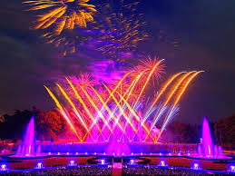 kennett square pa fireworks fountains illuminate the night sky at longwood gardens this summer with six new awe inspiring shows