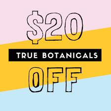 true botanicals code