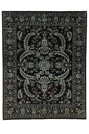 black oriental rug dazzling traditional with borders and blue white rugs