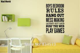 bedroom rules. boys bedroom rules quote 57 89h 2 r
