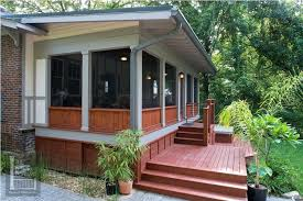 how to build a screened porch on a deck