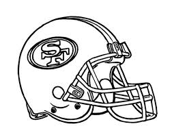 Awesome Nfl Team Helmet Coloring Pages Doiteasyme