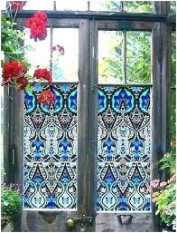 faux stained glass kits stained glass decal post stained glass window decals faux stained glass