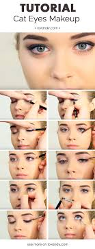 how to do cat eyes
