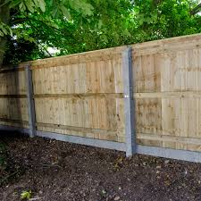square metal fence post. Closeboard Fencing With Concrete Posts Square Metal Fence Post