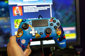 Ps4 Controller Design Fortnite The Scuf Vantage Is A Fortnite Players Dream Ps4 Controller
