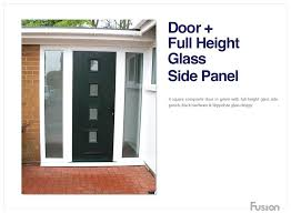 entry doors with side panels composite side panels create a real contemporary front door with popular