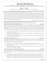 Editor Resume Sample Camelotarticles Com