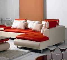 vig divani casa b205 ultra modern white red leather sectional sofa set 3pcs order