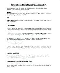 Social Media Proposal Template Social Media Campaign Template Pdf Umbrello Co