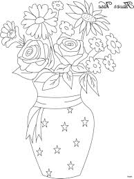 How To Draw A Vase With Designs The Best Free Flowerh Drawing Images Download From 10 Free