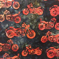 RK99 Motorcycle Batik Biker Helmet Watercolor Quilt Cotton ... & RK99 Motorcycle Batik Biker Helmet Watercolor Quilt Cotton Quilting Fabric Adamdwight.com
