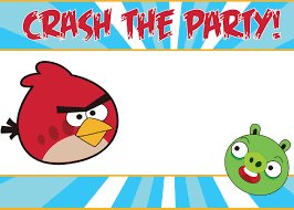 birthday party invitations templates invitations ideas printable angry birds party invitations