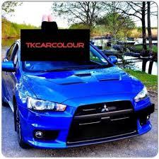 สีน้ำเงินแก้วเหลือบมุก..สีสด.!ใส.!สวย.!สี... - ทีเคคาร์คัลเลอร์ ผสมสีตามตัวอย่าง  จำหน่ายสีพ่นรถยนต์