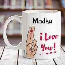 Buy Huppme I Love You Madhu Name ...