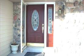 fiberglass entry doors with single sidelight front door with single sidelight design entry door decoration exterior