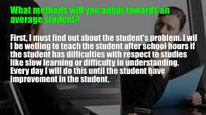 high school teacher interview questions high school teacher interview questions