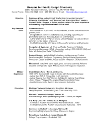 Freelance Writer Resume Objective Freelance Writer Resume Sample Starengineering 25