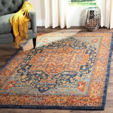 orange and teal area rug burnt orange and brown area rugs