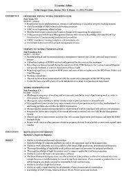 Work Coordinator Resume Samples Velvet Jobs