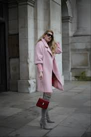 Outfit Red Patent And Pink At Lfw Glamazon Blog By Eva Bloglovin