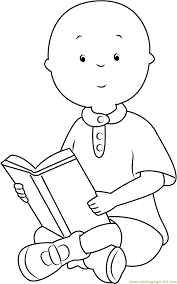 Small Picture Caillou Coloring Pages