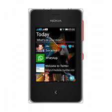 Nokia Asha 500 Dual Sim, Bright Red ...