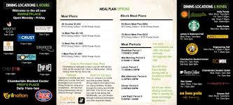 Meal Plan Information Dining Services Rowan University