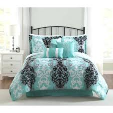 grey and white comforter turquoise bedding black set queen best gray twin xl