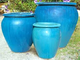 planters awesome large glazed ceramic outdoor garden pots extra