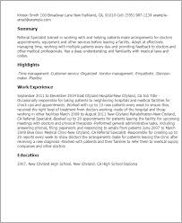 Resume Templates: Referral Specialist