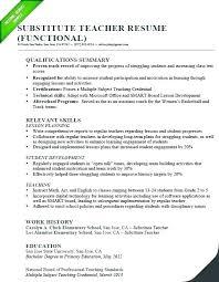 Teaching Resume Cover Letter Sample Teaching Resume Sample For
