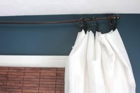 Diy Curtain Rods Diy Curtain Rods Shine Your Light