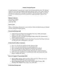 Object Resume Paralegal Resume Objective Shalomhouseus 18