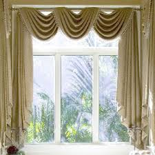 Elegant Curtain Ideas For Large Windows In Various Designs And Colors With  Marvelous Photographs: Elegant. Living Room ...