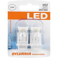 Sylvania Reverse Lights 2 Pk Sylvania 3157 White Led Automotive Bulb Bulbamerica