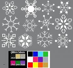 snowflake decal softball wall decals wall decals softball wall decal new snowflake stickers window decals snowflake