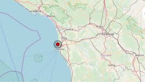 Terremoto in Toscana oggi, giovedì 24 ottobre 2019, scossa M ...