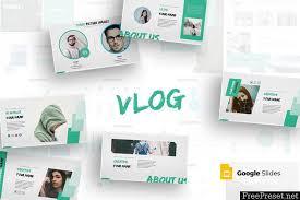 Pptx Themes Vlog Google Slides Template Xtk6wf Pptx